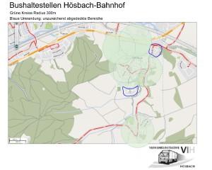 Bushaltestellen H-Bf